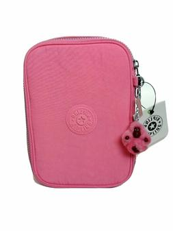 KIPLING 100 Pens Accessory Pencil Case Cool Pink