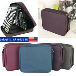 120 Slots Colored Pencil Case Multilayer Foldable Drawing Ho
