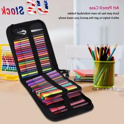 120 Slots Large Capacity Colored Pencil Case Organizer Folda