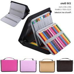 150 Slots Colored Pencil Case Stationery PencilCase Drawing