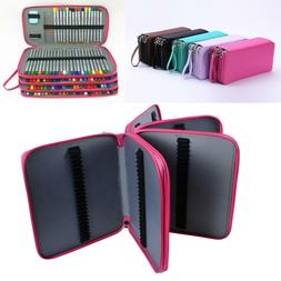 184 Slots Large Pencil Case Pen Bag Organizer Colored Foldab