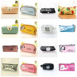 1PCS Pencil Case Stationery Office & School Supplies Makeup