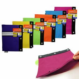 2 Pcs Pencil Case Stationery Office School Supplies Makeup B