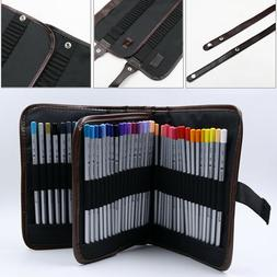 3 Layers 72 Pencil Case Bag Organizer Storage Large Capacity