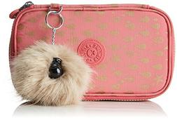 Kipling 50 Pens Pencil Cases, 21 cm, 1 liters, Pink