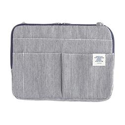 500424 Inner Carrying Bag Size B5 Hickory Stripe Pouch Case