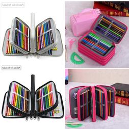 72 Slots Pencil Case Handy Large Capacity Oxford Multi-layer