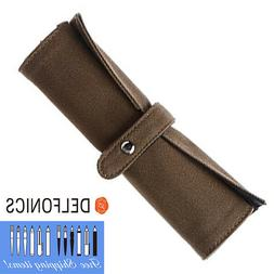 Delfonics Roll Pen Case Olive Cotton Canvas  Very Useful Cas