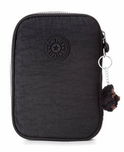 NWT Kipling 100 Pens Pencil Cord Case Cosmetic Travel Pouch