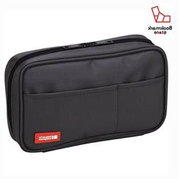 New LIHITLAB pen case  A7551-24 Black