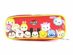 Party Favors Disney Tsum Tsum Kids Pink Pencil Case Zippered