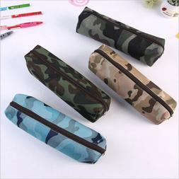 a boys girls camouflage school supplies pouch