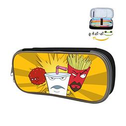 Aqua Teen Hunger Force Pencil Case, Homecube Big Capacity Pe