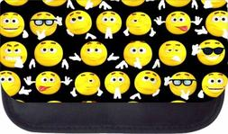Assortment of Black School Pencil Cases with Two Pockets- Ch