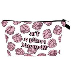 Cosmetic Bag For Women,Women Letter Printing Makeup Cosmetic