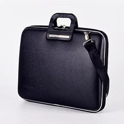 Bombata Bag Firenze Briefcase for 17 Inch Laptop - Black