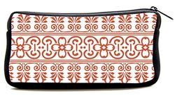 Cosmetic Makeup Bag red Illustrated Pencil Case