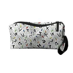 TropicalFAS Cosmetic Bags Stranger Things Makeup Bag With Br