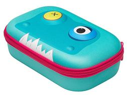 ZIPIT Beast Pencil Case/Pencil Box/Storage Box, Light Blue