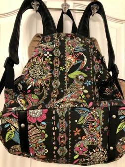 Beautiful SakRoots Campus Owl Boho  Multicolor Backpack With