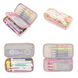 Twinkle Club Big Capacity Pencil Case PINK