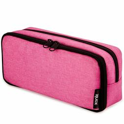 Big Capacity Pencil Case Stationery Pouch with Zipper Bag fo