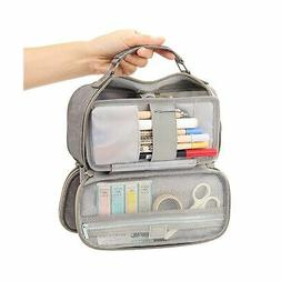EASTHILL Big Capacity Pencil Case Stationery Storage Large H