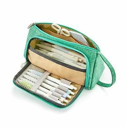 EASTHILL Big Capacity Pencil Pen Case Bag Pouch Holder for M