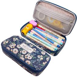 Twinkle Club Big Capacity Pencil Pen Case Bag Pouch Holder f
