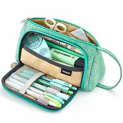 Big Capacity Pencil Pen Case Pouch Holder for Middle High Sc