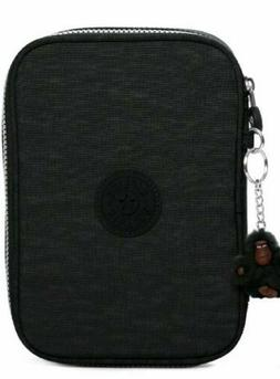 KIPLING BLACK 50 PENS PENCIL COSMETIC CASE * NEW WITH TAG!