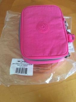 BRAND NEW !! Kipling 100 Pens Pencil Case color Pink