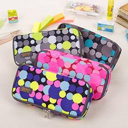 Twinkle Club Bubble Symbol Multifunctional Color Pencil Case