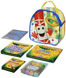 Crayola Art Buddy Backpack - 8 x 8.5 x 4.5 inches 124095