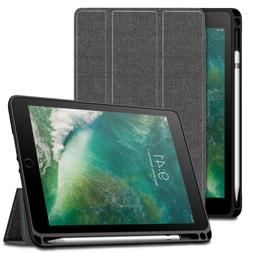 Built-in Apple Pencil Holder Shockproof Case Cover for iPad