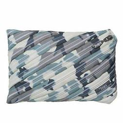ZIPIT Camo Big Pencil Case, Grey Camouflage