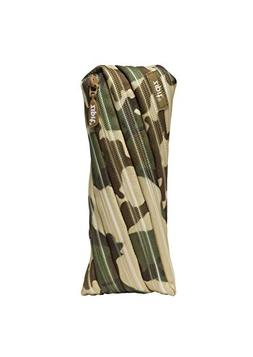 ZIPIT Camo Pencil Case, Green Camouflage