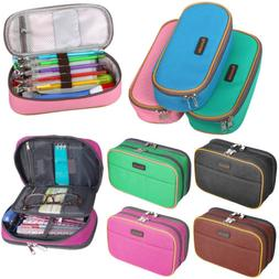 canvas pencil case large capacity pen box