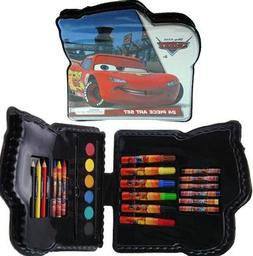 Cars Shaped 24pc Art Set in Plastic Case XRSH by Disney