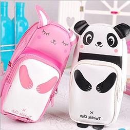 Twinkle Club Cartoon Panda Bunny Cute Pencil Cases