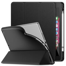 Case Cover for iPad 7th Generation 10.2 inch 2019 with Built