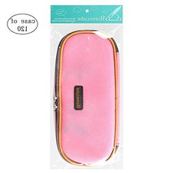 Case of 120, Homecube Pencil Case Pouch with Compartment, Pi