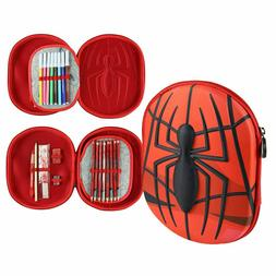 case with accessories Marvel Spider-Man Giotto 3D pencil cas