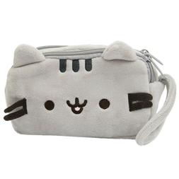 Cat Pencil Case Cute Plush Pen Bag Makeup Pouch Cosmetic Bag
