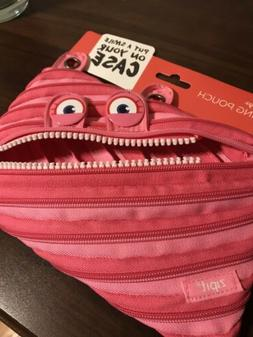 Zipit Children Monster Pencil Case Pink Put a smile on your