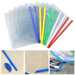 Clear Transparent PVC Plastic Pencil Eraser Stationery Case