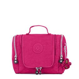 Kipling Connie Solid Hanging Toiletry Bag, Very Berry