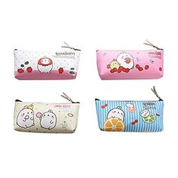 TOOGOO Countryside Flower Floral Pencil Pen Case Cosmetic Ma