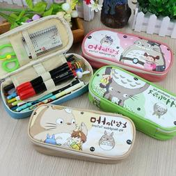 Creative Kid Girls Boys Cute School Pencil Case Pouch For To
