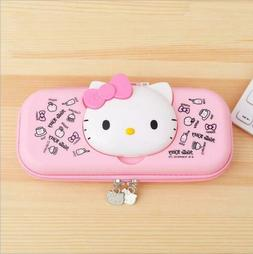 Cute Hello Kitty Pencil Pen Box Case Stationery Pouch Girls
